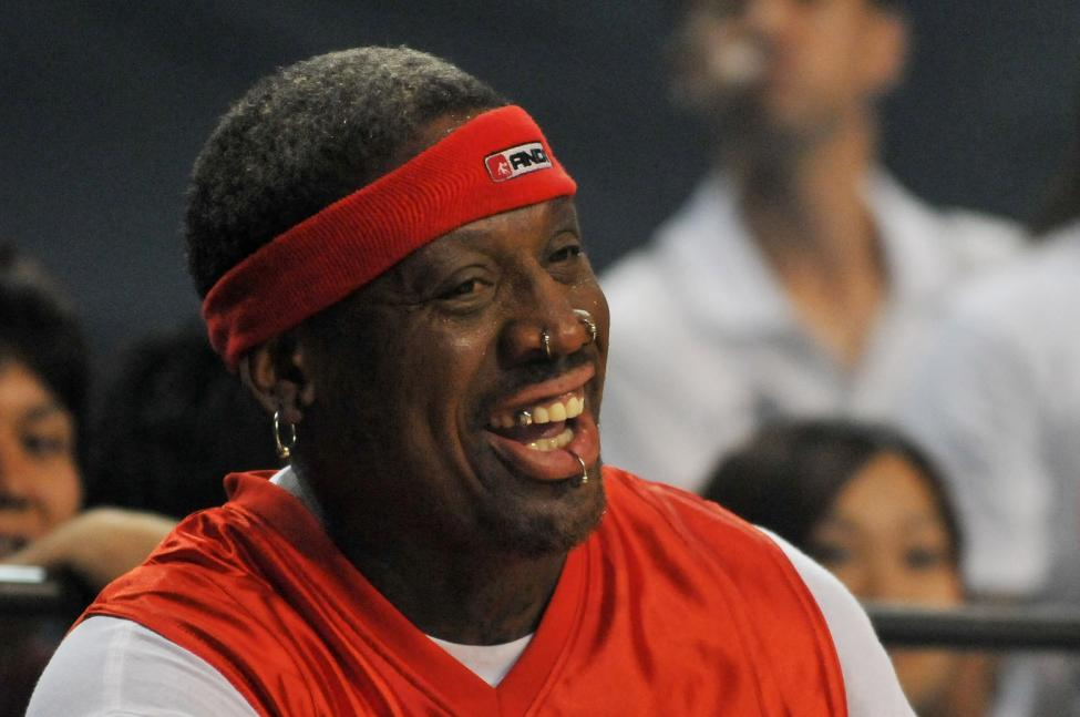 NBA legend Dennis Rodman accused of randomly smacking man in face at Florida party