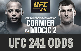 UFC 241 Prediction and Odds – Cormier vs. Miocic 2  Plus Updated DAILY (All Fights)